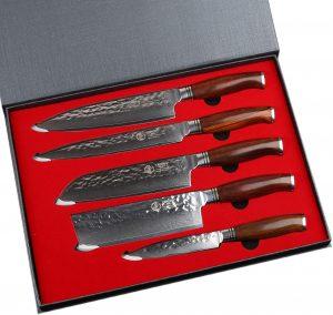 Kitchen Knife Set 5 Piece,Yarenh