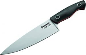 Boker Saga Chefs Knife Satin
